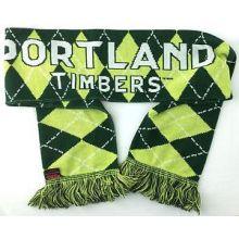MLS Portland Timbers Argyle Fringed Scarf