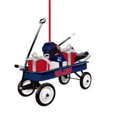 New York Rangers Team Wagon Ornament