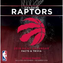 Toronto Raptors 2019 Boxed Desk Calendar
