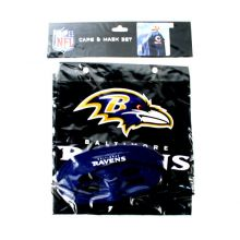 Baltimore Ravens Cape and Mask Set