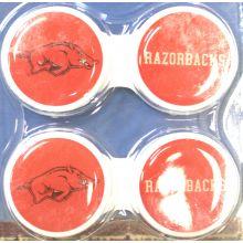 Arkansas Razorbacks Contact Lens Case 2 Pack