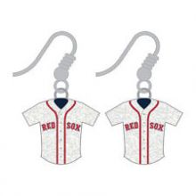 Boston Red Sox Jersey Dangle Earrings