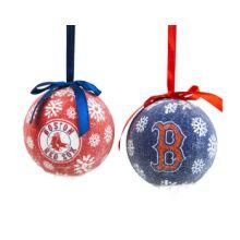 Boston LED Ball Ornaments Set of 2