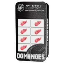 Detroit Red Wings Collectors Edition Double Six Dominoes