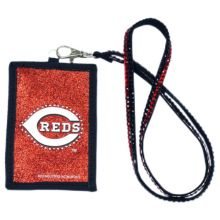 Cincinnati Reds Beaded Lanyard I.D. Wallet