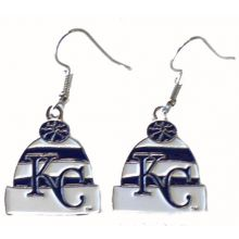 Kansas City Royals Beanie Logo Dangle Earrings