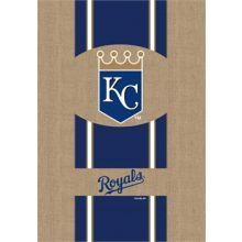 "Kansas City Royals 28"" x 44"" Burlap Vertical Flag"
