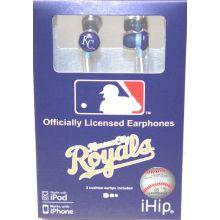Kansas City Royals Ihip Earbuds Headphones