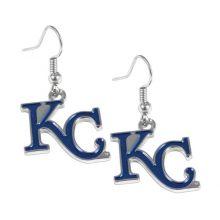 Kansas City Royals Dangle Logo Earrings