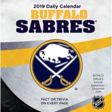 Buffalo Sabres 2019 Boxed Desk Calendar