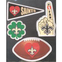 New Orleans Saints 4 Piece Magnet Set