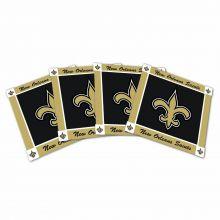 New Orleans Saints 4-Pack Ceramic Coasters