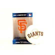 San Francisco Giants Pint and Coaster Set