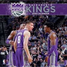 Sacramento Kings 12 x 12 Wall Calendar 2019