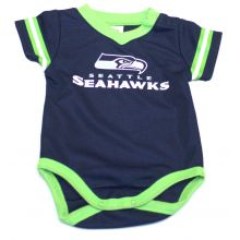 Seattle Seahawks  2018 Infant Boys Dazzle Bodysuit 3-6 Months