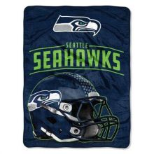 NFL Seattle Seahawks Franchise Micro Raschel Throw Blanket