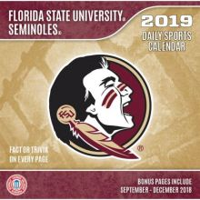 Florida State Seminoles 2019 Boxed Desk Calendar