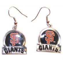 San Francisco Giants Bar Style Dangle Earrings