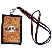 San Francisco Giants Beaded Lanyard I.D. Wallet