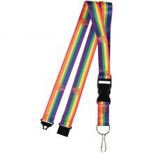 San Francisco Giants Breakaway Rainbow Lanyard Keychain