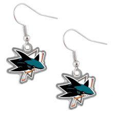 NHL San Jose Sharks Dangle Earrings