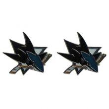 NHL San Jose Sharks Stud Earrings