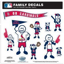 St. Louis Cardinals Team Family Decals