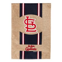 "St. Louis Cardinals 28"" x 43"" Burlap House Flag"