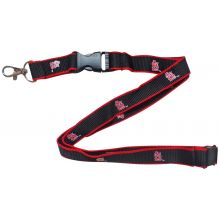 MLB St. Louis Cardinals Red Edge Breakaway Lanyard Key Chain