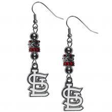 St. Louis Cardinals Euro Bead Earrings