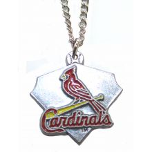 St. Louis Cardinals Home Plate Chain Necklace