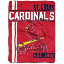 "St. Louis Cardinals 46"" x 60"" Walk Off Micro Raschel Throw Blanket"