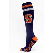 Syracuse Orange Tube Socks Blue
