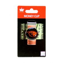 Oregon State Beavers Dome Money Clip
