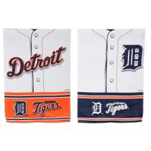 Detroit Tigers 2 Sided Suede Foil Garden Flag