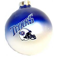 Tennessee Titans Team Color Round Ball Ornament