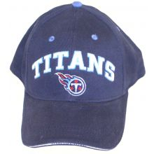 Tennessee Titans Dark Blue Large Writing Embroidered Adjustable Headwear