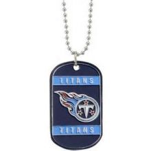 Tennessee Titans Dog Tag Necklace