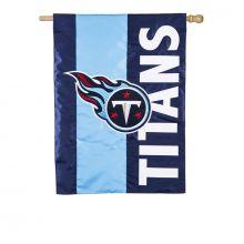 Tennessee Titans Embellish House Flag