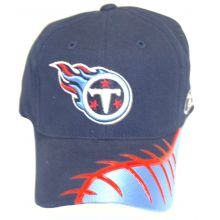 Tennessee Titans Football Bill Embroidered Adjustable Headwear