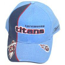 Tennessee Titans Light Blue Dual Logo Embroidered Adjustable Headwear
