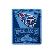 "Tennessee Titans 50"" x 60"" Marque Fleece Throw Blanket"