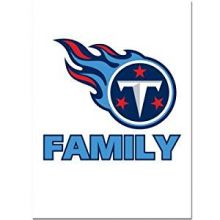 Tennessee Titans Team Pride Decal