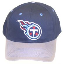 Tennessee Titans Two Tone Blue Embroidered Adjustable Headwear