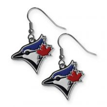 Toronto Blue Jays Logo Dangle Earrings