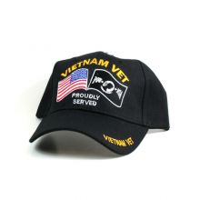 Armed Services Vietnam Veteran Proudly Served Hat