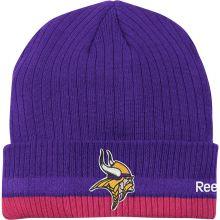 NFL Reebok Minnesota Vikings Breast Cancer Awareness Beanie