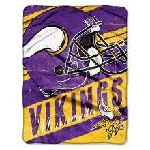 "Minnesota Vikings  46"" x 60"" Deep Slant Super Plush Throw Blanket"