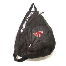 Virginia Tech Hokies Sideswipe Sling Backpack