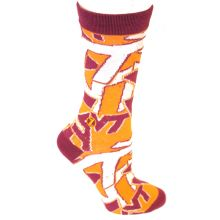 Virginia Tech Hoakies Team Crew Socks L/XL
